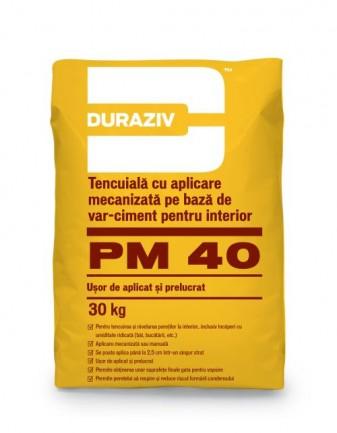 DURAZIV PM 40 Tencuială
