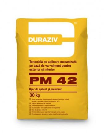 DURAZIV PM 42 Tencuială