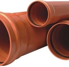 Teava PVC Cu Mufele Si Fitingurile Aferente