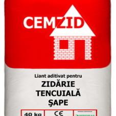 Liant Aditivat Pentru Zidarie, Tencuiala, Sape  CEMZID