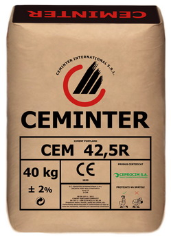 Ciment Ceminter CEM 42,5R