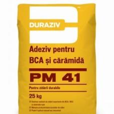 DURAZIV PM 41 Adeziv Pentru BCA și Cărămidă
