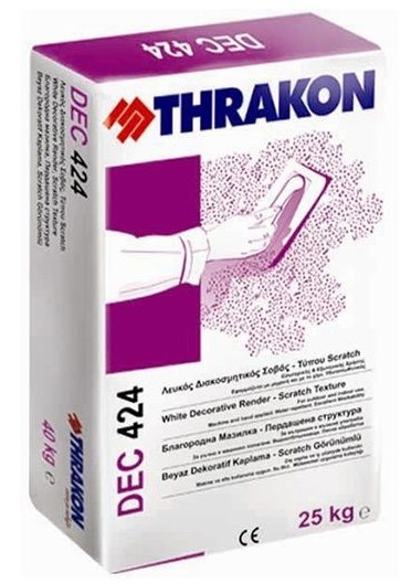 THRAKON DEC 424 SCRATCH Tencuială Decorativă Minerală  (bob De Orez)